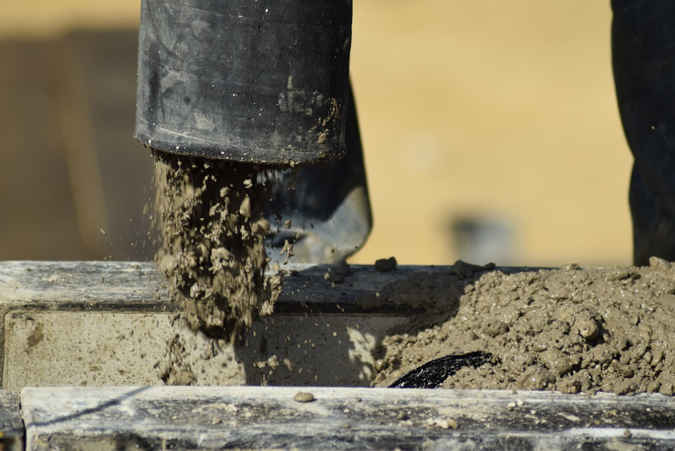 this image shows anytime concrete pumping about